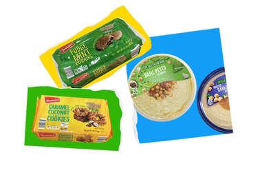 aldi cookies girl scout hummus variety grocery buy store