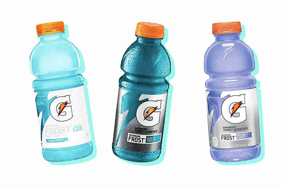 amount of blue dye in gatorade The dye was administered at a dose of 1000 mg/kg/day for the first 21 days, thereafter the dose was increased to 1500 mg/kg/day and this dosage was given for an additional 54 days body weight was recorded weekly and food intake daily.