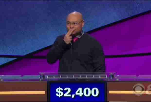 This Dude Got Bleeped on 'Jeopardy!' for Swearing Mid-Game
