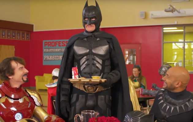 Watch Conan's Batman Get Completely Humiliated by Marvel Superheroes