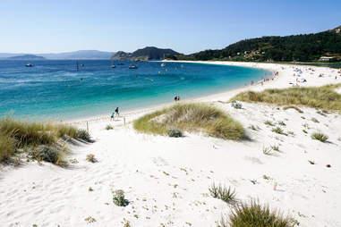 Cies Islands, Galicia, Spain