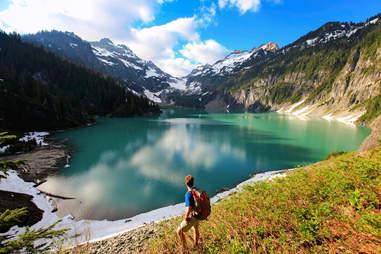 Blanca Lake, Washington