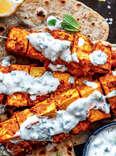 Tandoori Tofu Skewers vegan barbecue bbq vegetarian cookbook tips