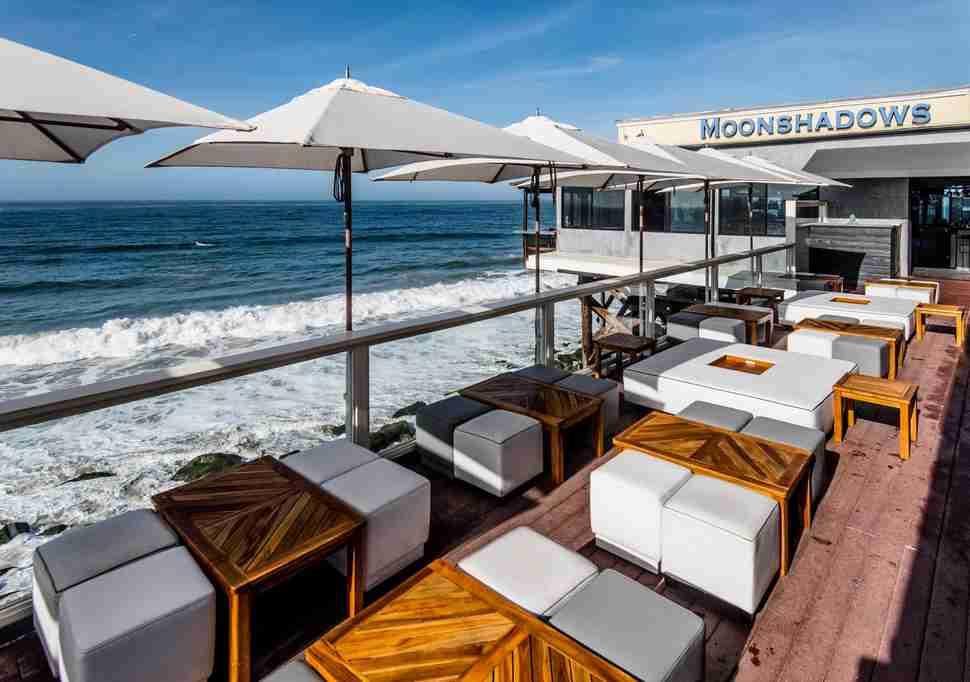 Moonshadows Blue Lounge Malibu