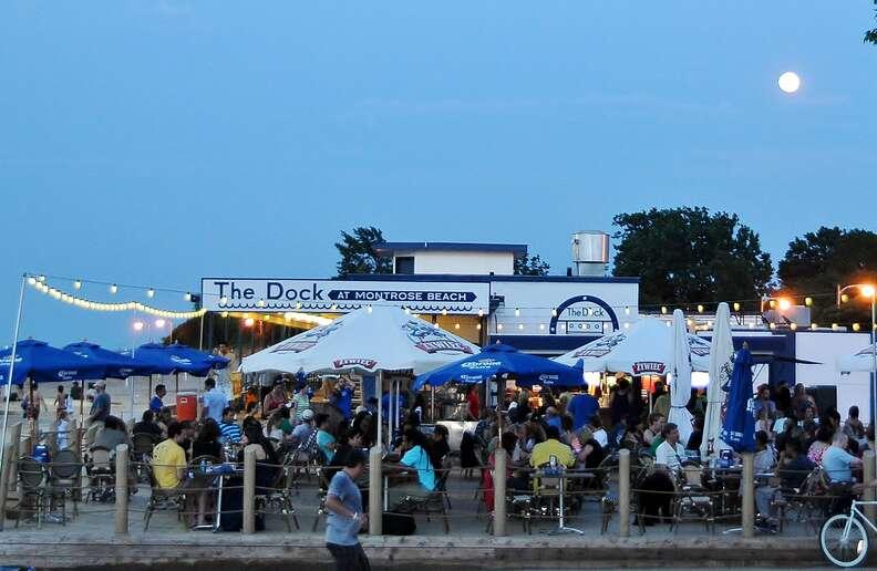 The Dock at Montrose Beach, Chicago, Illinois