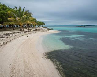 Beach in Belize