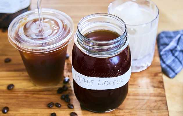 How to Make Cold Brew Coffee Liqueur