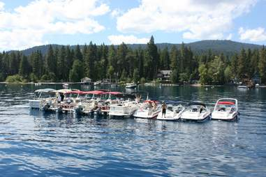 The Party Boat Lake Tahoe