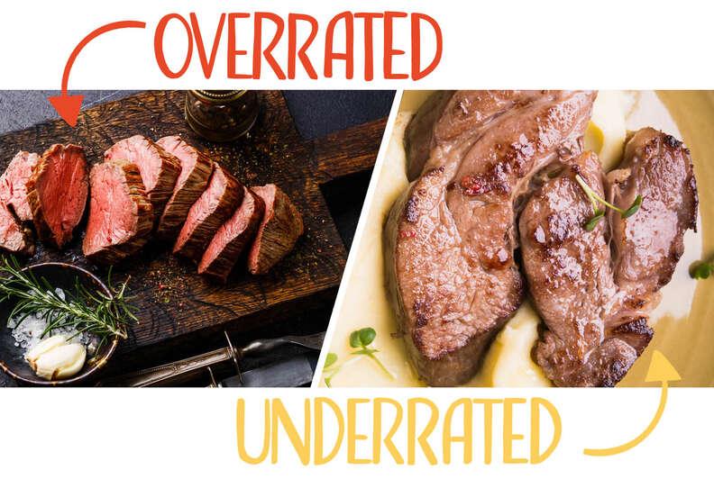 beef tenderloin and neck