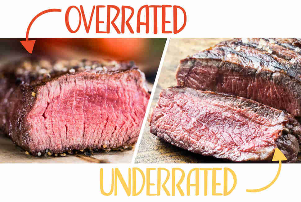 most overrated and underrated cuts of beef best underrated beef