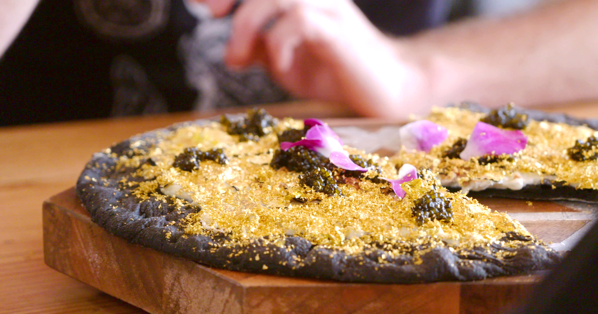 Industry Kitchen's 24K Gold Pizza: Is the Expensive Pie Really Pizza? -  Thrillist