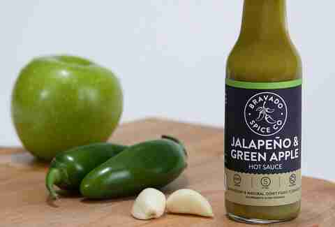 Bravado Jalapeño & Green Apple Hot Sauce