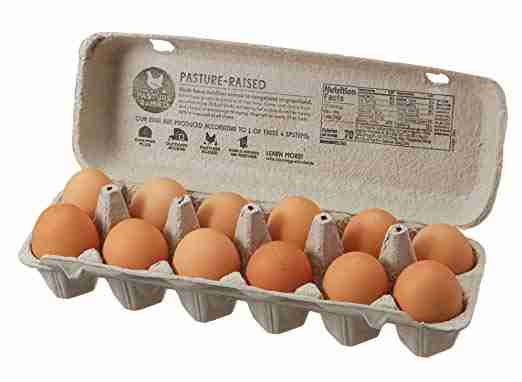 365 Everyday Value Pasture Raised Large Brown Grade A Eggs
