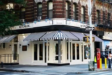 by Chloe's original location in New York.