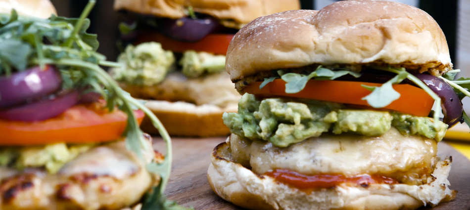 Get Grilling: Turkey Burgers With Avocado