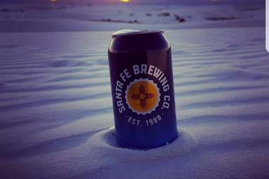 Santa Fe Brewing Company White Sands Monument