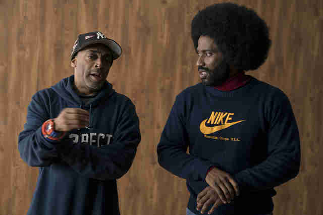 blackkklansman spike lee john david washington