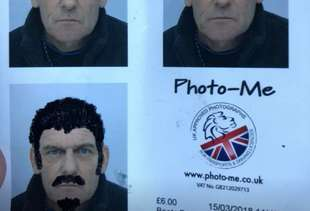 Would-Be Thief Breaks Into Car, Doodles on Grandpa's Passport Instead of Stealing Anything