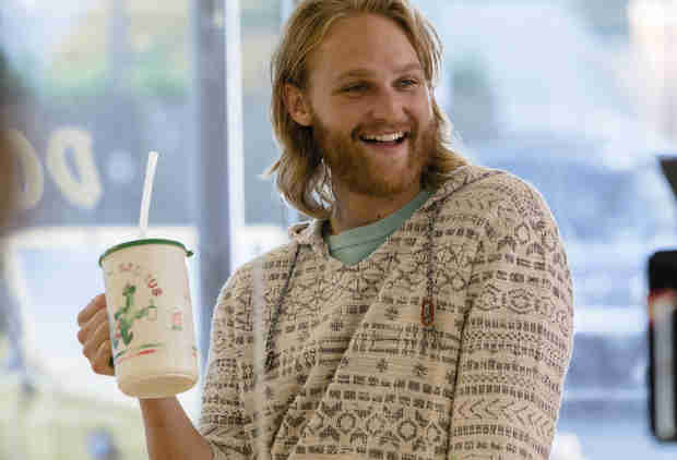 Wyatt Russell on 'Lodge 49,' Loan Sharks, and Actual Sharks