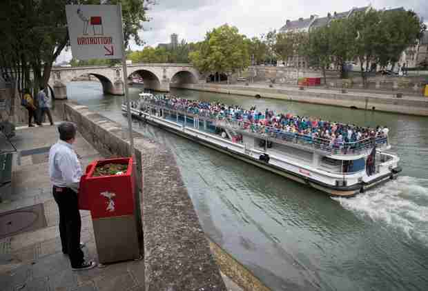 People Are Pissed About These Open-Air Urinals on the Streets of Paris