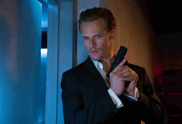 sam heughan, the spy who dumped me