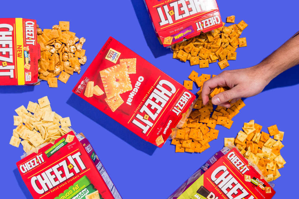 cheez-its boxes