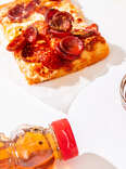 Honey and pizza