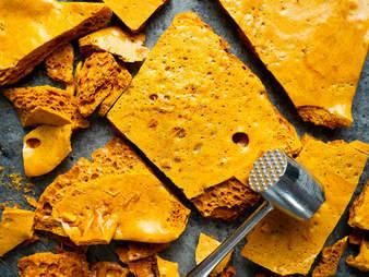 golden honeycomb toffee