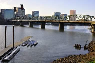 Hawthorne Bridge, Portland Oregon