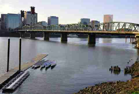 Hawthorne Bridge, Portland Oregon