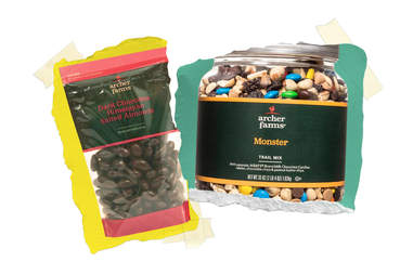 Target trail mix and chocolate almonds