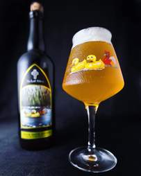 The Lost Abbey barrel aged blonde sour