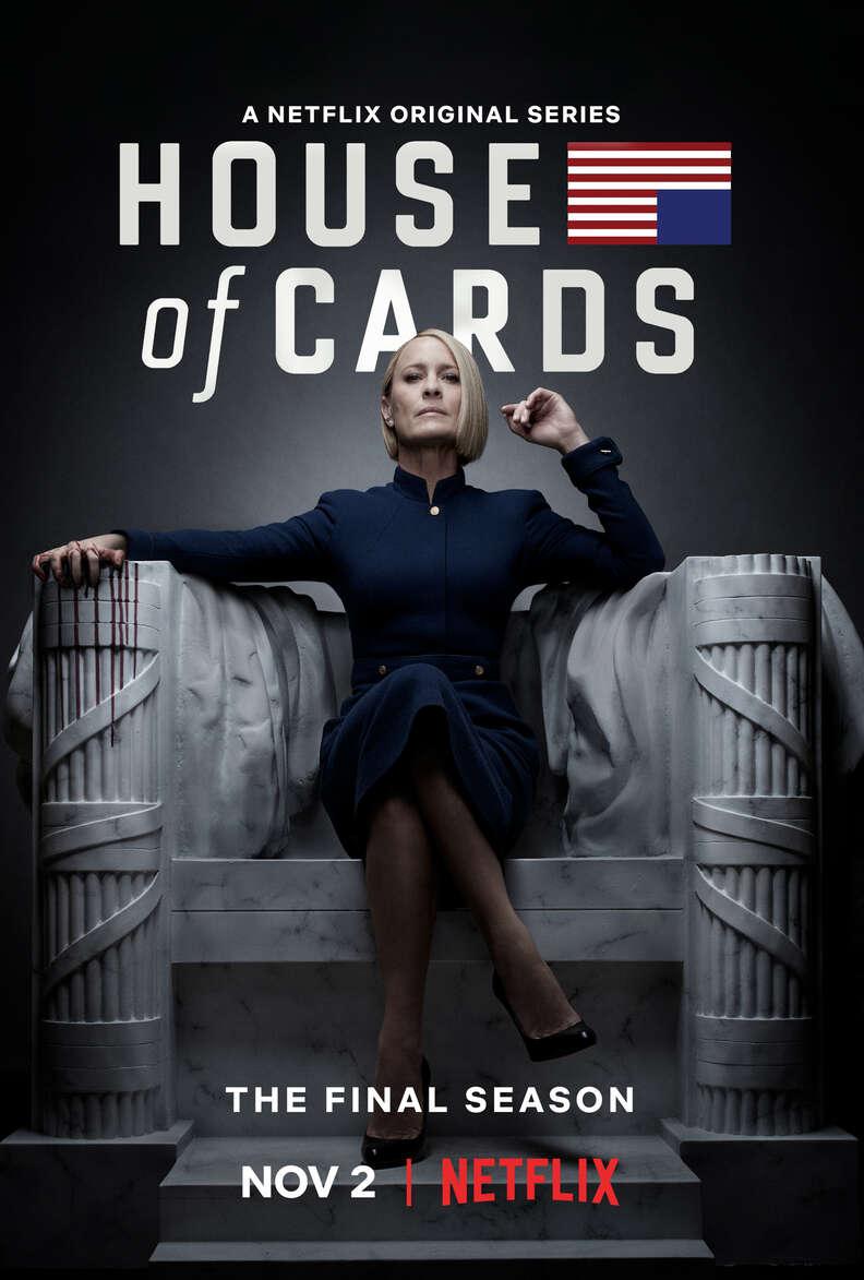 house of cards season 6 key art