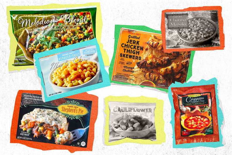 Trader Joe's frozen food selections