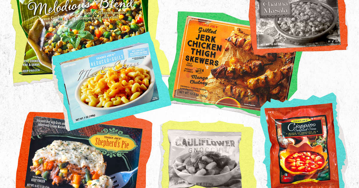 The Tastiest, Healthiest Meals Hidden in Trader Joe's Freezer Section