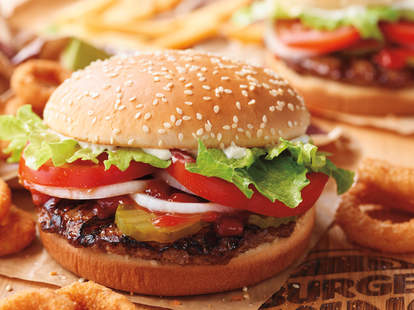 free burger kind delivery labor day 2018
