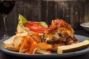Brisket burger from City Pork, Baton Rouge, Louisiana