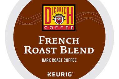 Diedrich French Roast Blend dark coffee coffees keurig
