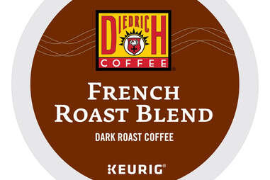 Diedrich French Roast Blend dark coffee coffees keurig