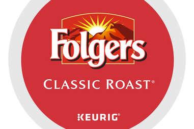 Folgers classic roast keurig cup kcup coffee