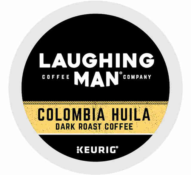 Laughing Man Colombia Huila keurig cup