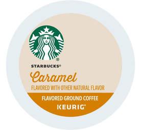 Keurig cup Starbucks caramel