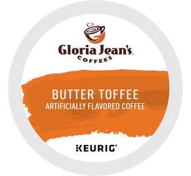Gloria Jean's Butter Toffee keurig cup