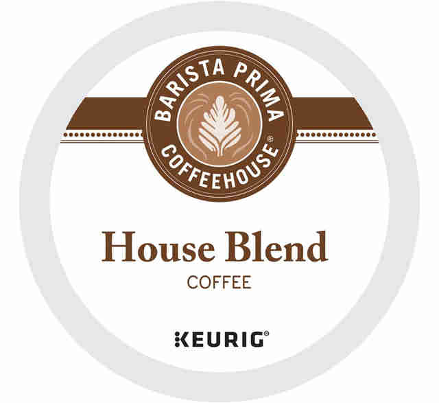 Keurig cup Barista Prima House Blend coffee