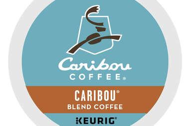 Keurig cup Caribou blend coffee kcup roast