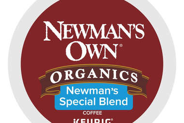 Keurig Cup Newman's Own Special Blend coffee kcup ranking thrillist