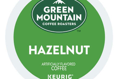 Green Mountain Coffee Hazelnut Keurig Cup kcup artificially flavored ranking thrillist