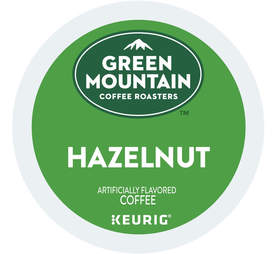 Green Mountain Coffee Hazelnut Keurig Cup
