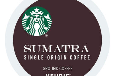 Keurig Cup Starbucks Sumatra coffee single origin ground kcup