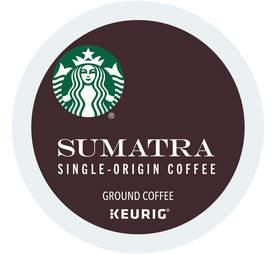 Keurig Cup Starbucks Sumatra